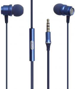 XO Wired earphones EP6 jack 3,5mm blue