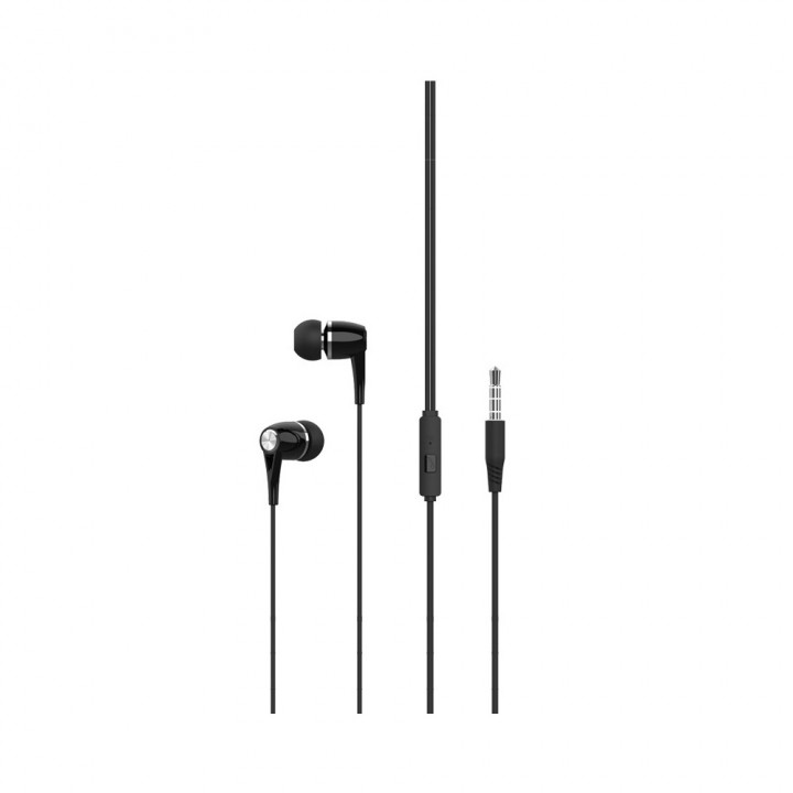 XO wired earphones EP21 jack 3,5mm black