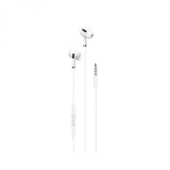 XO wired earphones EP22 jack 3,5mm white