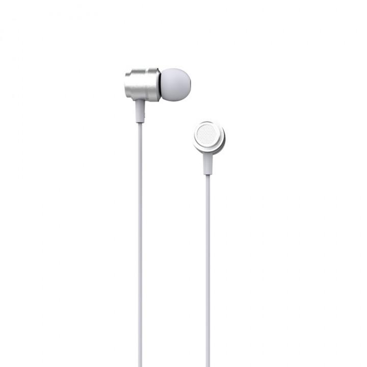 XO Wired earphones EP6 jack 3,5mm SILVER