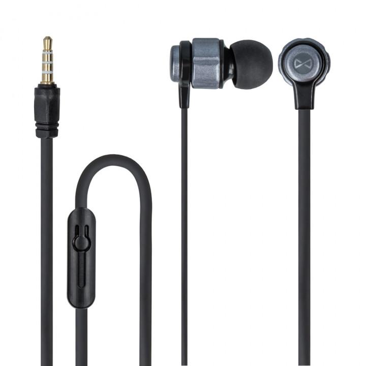 Forever wired earphones SE-400 jack 3,5mm black