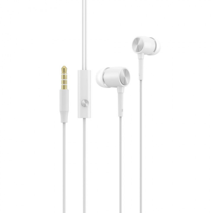 Devia wired earphones Cool jack 3,5mm white
