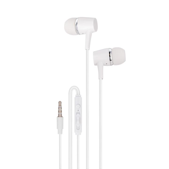 Maxlife MXEP-02 wired earphones white