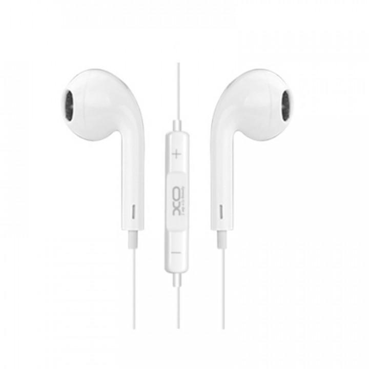 XO wired earphones S8 jack 3,5mm white