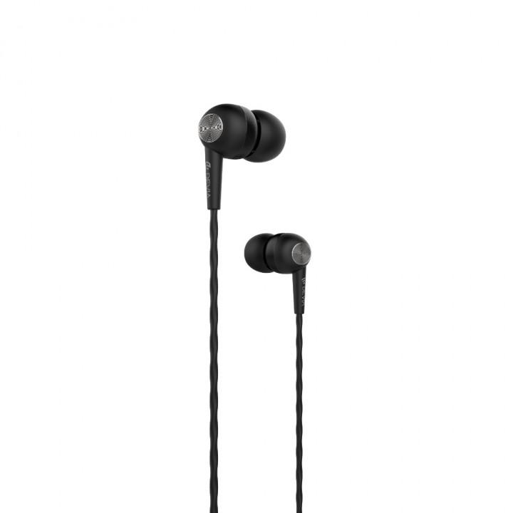 Devia wired earphones Kintone jack 3,5mm black