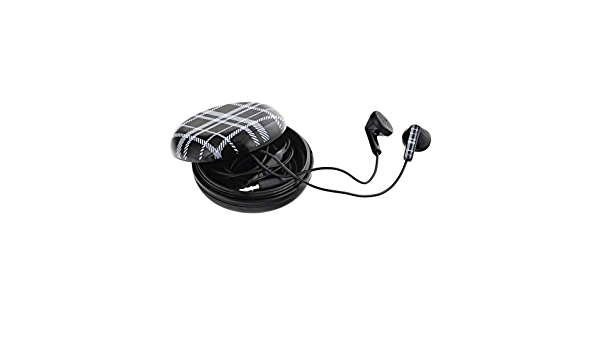 Tellur In-Ear Headset Berry, Carrying Case, Black