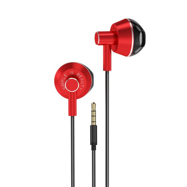 XO wired earphones EP34 jack 3,5mm black