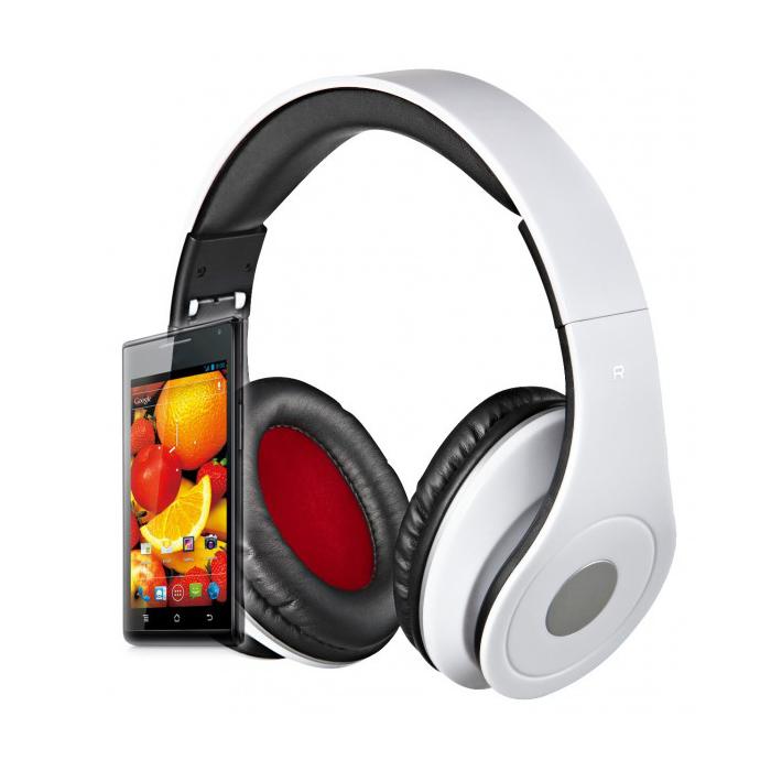 Rebeltec wired headphones AUDIOFEEL2 white