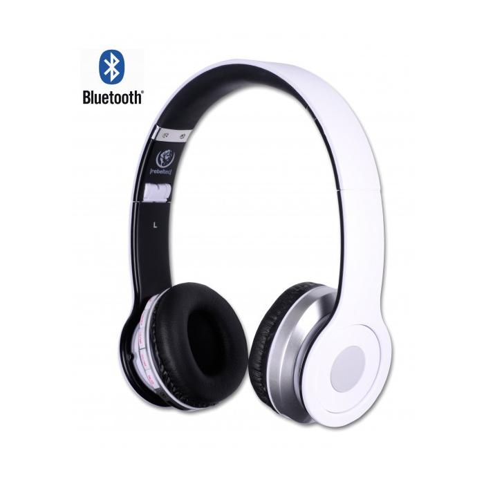 Rebeltec wireless headphones Crystal white