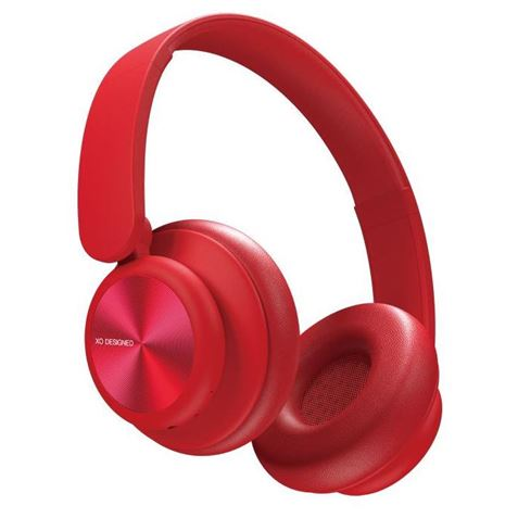 XO Bluetooth headphones B24 red