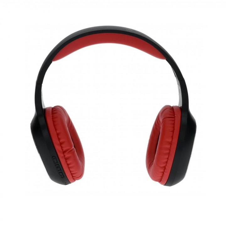 REBELTEC WAVE WIRELESS HEADPHONES RED-BLACK