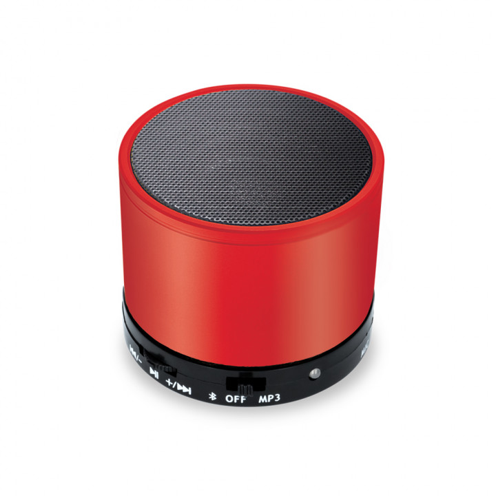 Bluetooth speaker cabel AUX<br/>mini-USB cable 3W - Red
