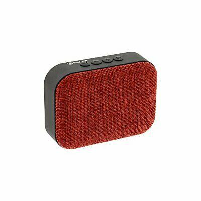 Callisto Wireless Speaker Red 3W