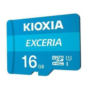 KIOXIA 16GB MICROSD KIOXIA EXCERIA M203 UHS1 UI WITH ADAPTER