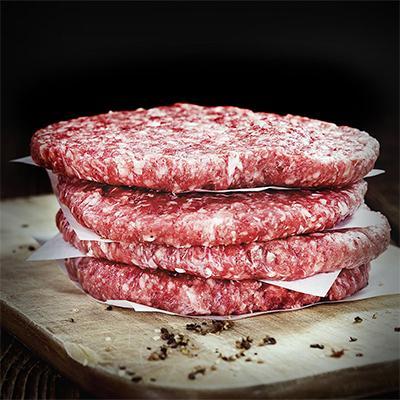 Black Angus Beef Burgers 5 x 200g