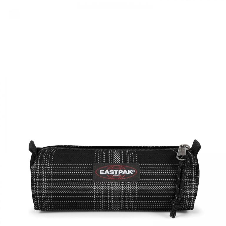 Eastpak Benchmark Single Checked Dark - Extra Small