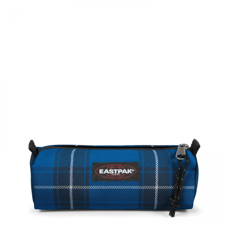Eastpak Benchmark Single Checked Blue - Extra Small