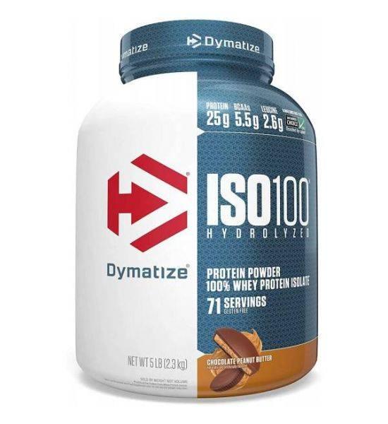 Dymatize ISO100 Hydrolyzed Powder Chocolate Coconut
