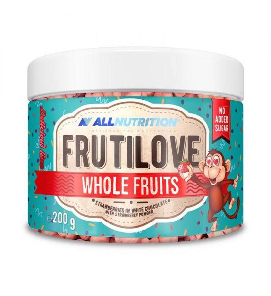 ALLNUTRITION FRUITILOVE WHOLE FRUITS STRAWBERRY White Chocolate with Strawberry Powder 300g