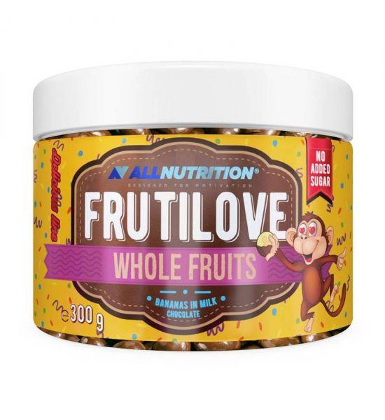 ALLNUTRITION FRUITILOVE WHOLE FRUITS BANANA IN MILK CHOCOLATE  300G