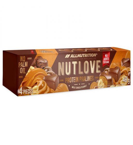 ALLNUTRITION NUTLOVE PROTEIN PRALINES Milk Choco Peanut 48G