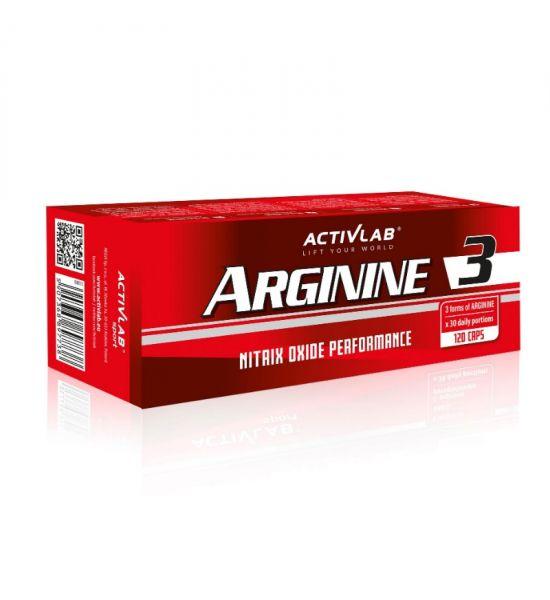 ACTIVLAB ARGININE 3 120 CAPSULES