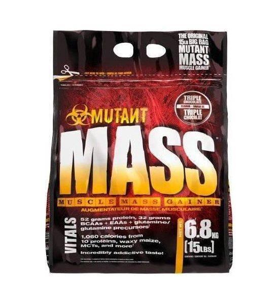 MUTANT MASS GAINER Chocolate Fudge Brownie 6.800KG