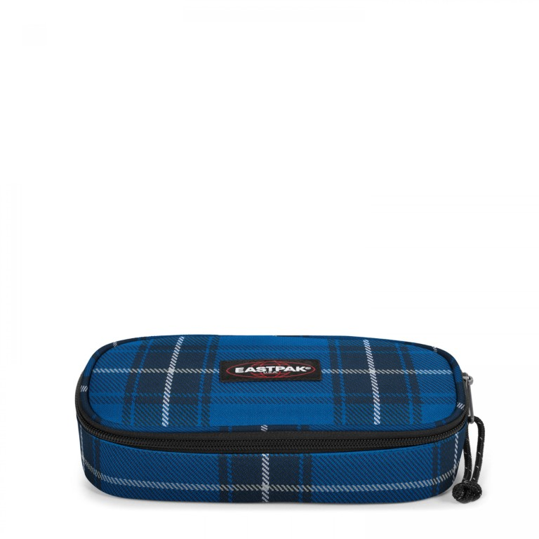 Eastpak Oval Single Checked Blue - Small