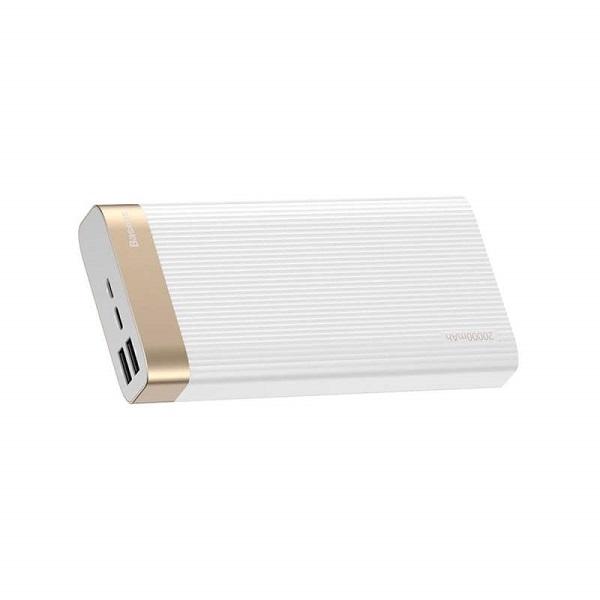 Baseus Power Bank Parallel Type-C PD + QC3 18W 20000mAh White