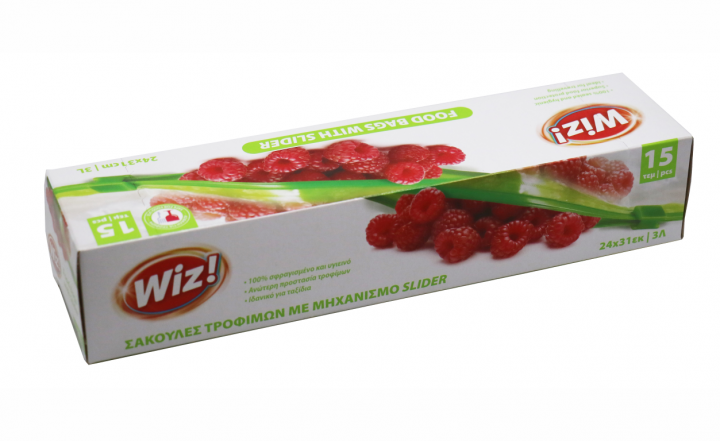wiz! Food bags with slider