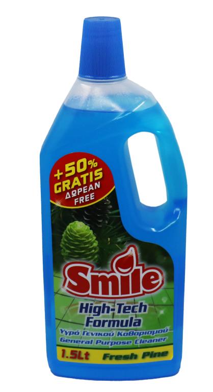 smile high-tech formula - general purpose cleaner 1.5lt - fresh pine