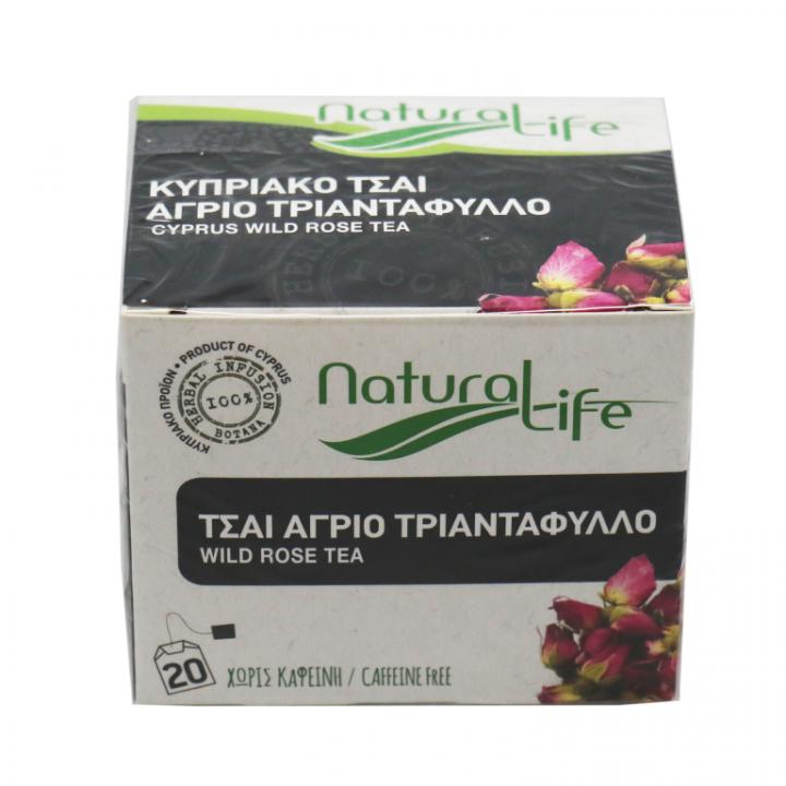 Natural Life wild rose tea 20 tea bags
