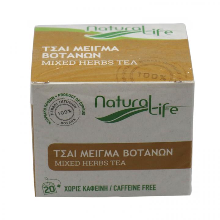 NATURAL LIFE GREEN TEA 20 tea bags