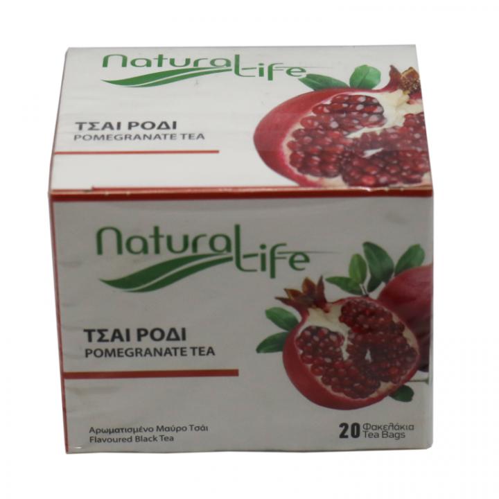 NATURAL LIFE POMEGRANATE TEA 20 tea bags