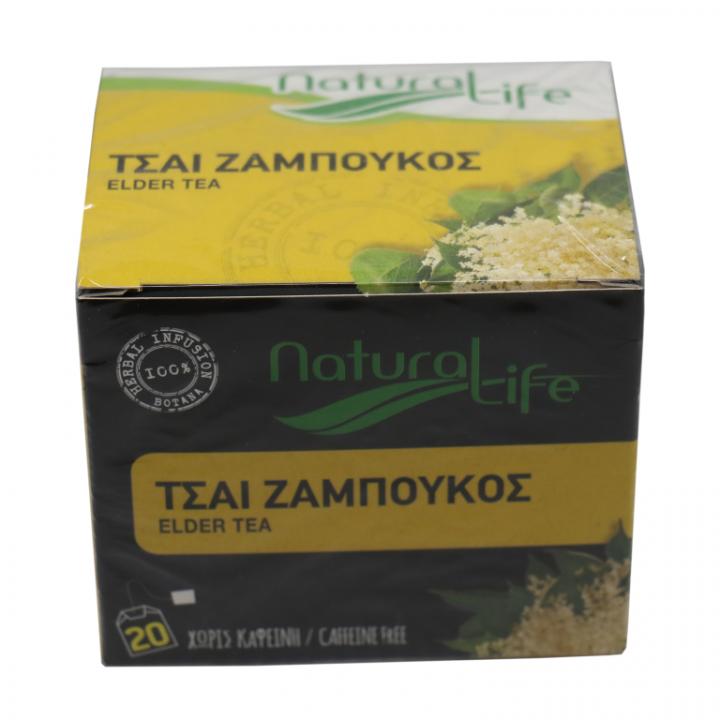 NATURAL LIFE ELDER TEA 20 tea bags
