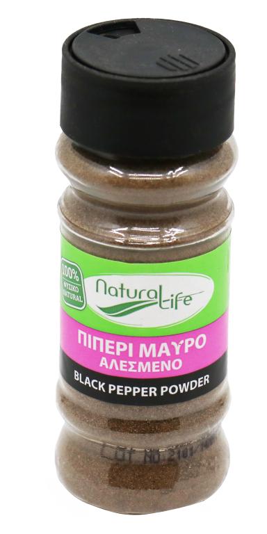NATURAL LIFE BLACK PEPPER POWDER 55h