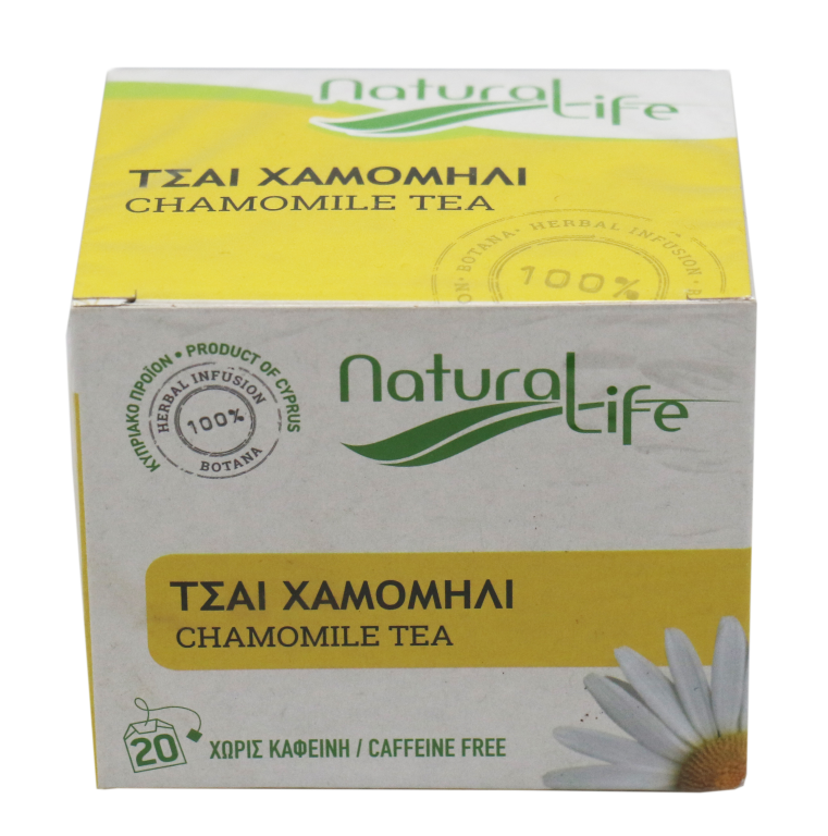NATURAL LIFE SPEARMINT TEA 20 tea bags