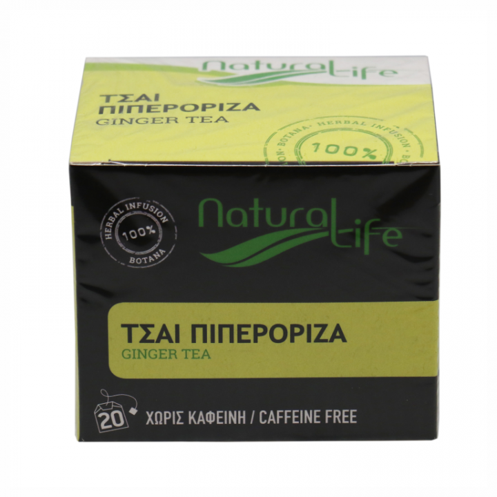 NATURAL LIFE GINGER TEA 20 tea bags