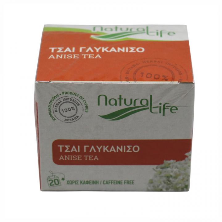NATURAL LIFE ANISE TEA 20 tea bags