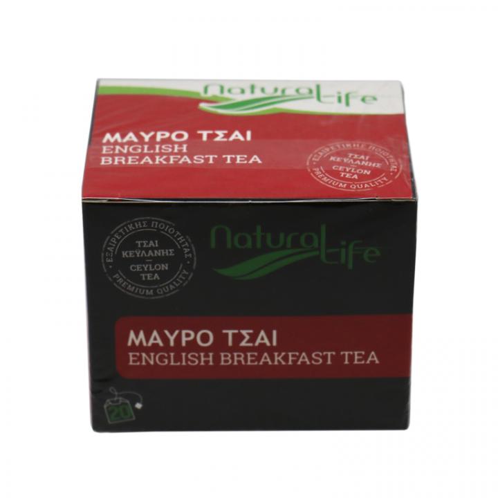 Natural life english breakfast tea 20 tea bags