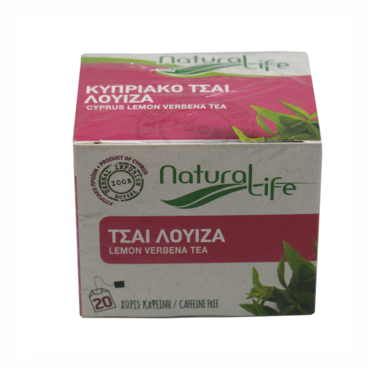 NATURAL LIFE LEMON VERBENA TEA 20 tea bags