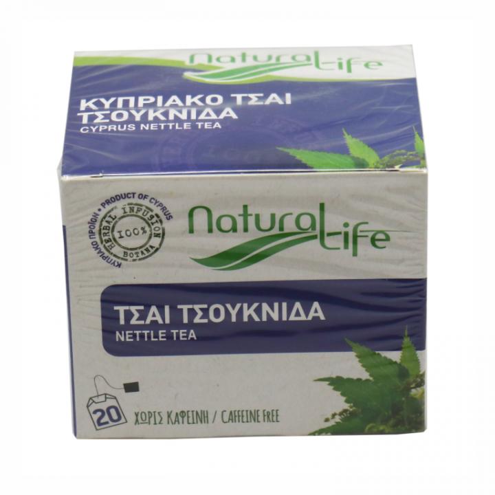 Natural life nettle tea 20 tea bags