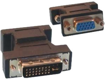 GR KABEL DVI to VGA Adaptor PA-137 Black