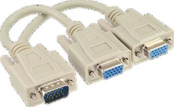 InLine 17307 VGA splitter - VGA male to 2 VGA female