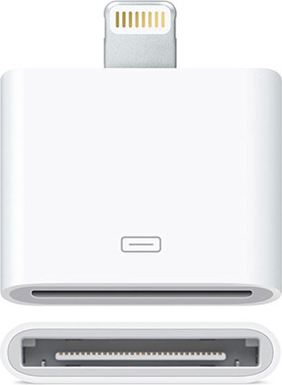 Adapter Lightning to 30-pin 0.2m - Apple MD823ZM/A Λευκό