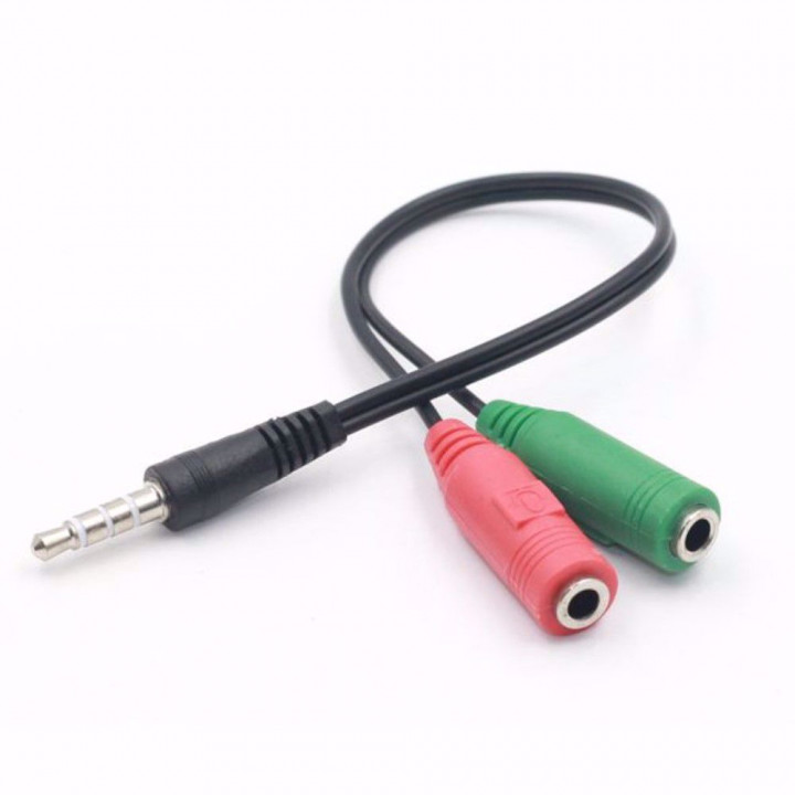 Jack 3.5mm Male to 2*Female Adapter Connector Stereo Jack Splitter Cable