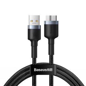 BASEUS Cafule Cable USB 3.0 Male to Micro-B Date Cord 2A 1m