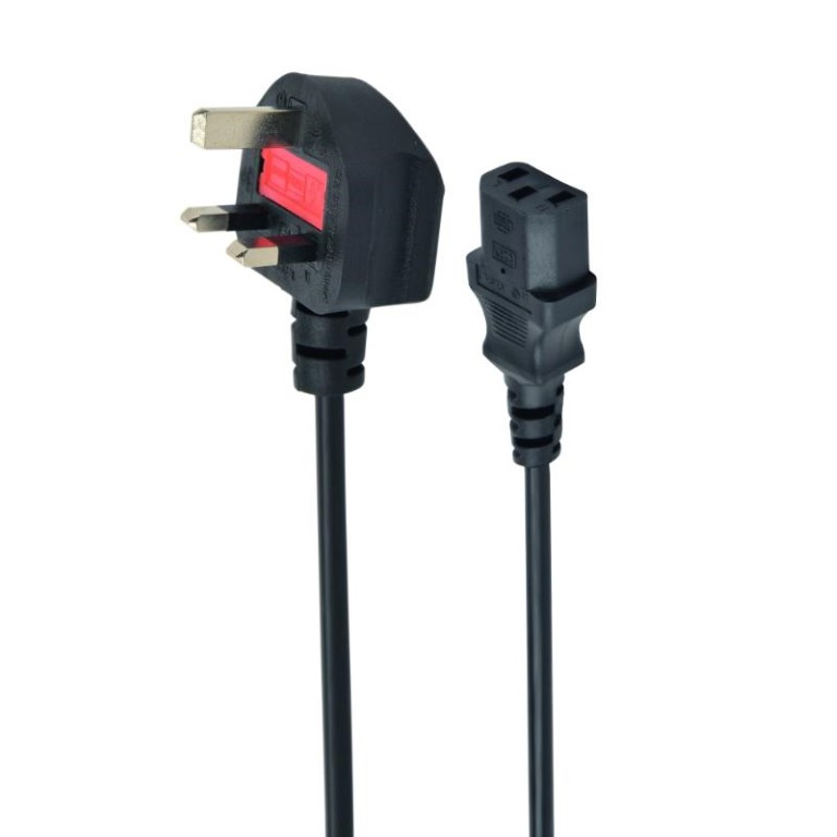 Cablexpert computer power cable (C13), 5 A, 6 ft UK
