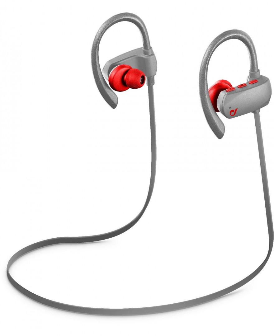 Cellularline in-Ear Bluetooth Grasshopper Pro Red Brack