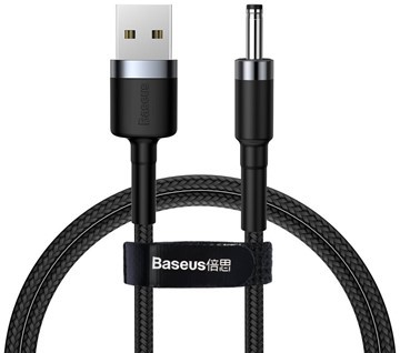 Baseus Charging Cable USB-A to DC 3.5mm, 2A, 1m